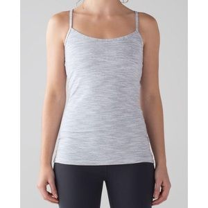 Lululemon Power Y Gray Workout Tank 6